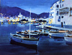 Cadaques Evening Fine Art Print by Ted Blackall