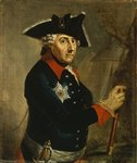 Frederick II the Great of Prussia, 1764 (oil on canvas) Wall Art & Canvas Prints by Georg Wenceslaus von Knobelsdorff
