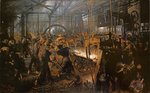 The Iron-Rolling Mill Fine Art Print by Vittorio Raineri