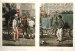 Fore's Contrasts: The Driver of 1832, The Driver of 1852, engraved by John Harris (1811-65) 1852 (hand-coloured aquatint) Wall Art & Canvas Prints by Daniel and Robert Havell