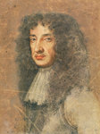 Charles II, c.1675 (coloured chalks on paper) Wall Art & Canvas Prints by English School