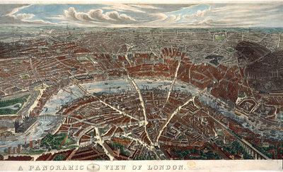 London: a panorama by J H Banks - print