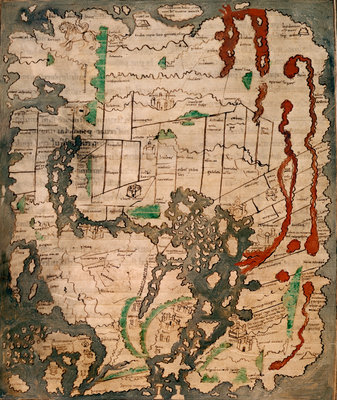The Tiberius Map by Anonymous - print