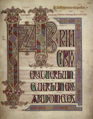 Lindisfarne Gospels by Anonymous - print