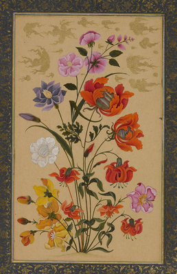 Exotic flowers Fine Art Print by Muhammad Khan