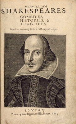 William Shakespeare by Anonymous - print
