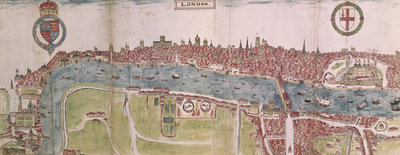 London panorama by Anonymous - print