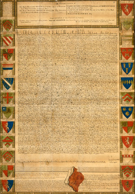 Magna Carta by Anonymous - print