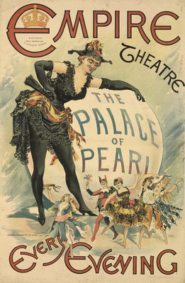 The Palace of Pearl at the Empire Theatre by Anonymous - print