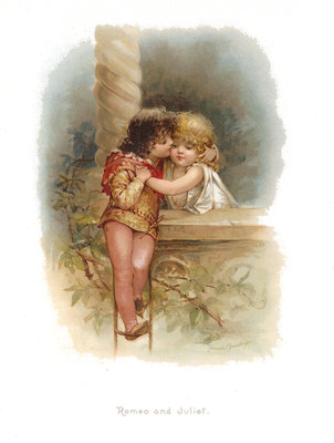 Romeo and Juliet by Edric Vredenburg - print