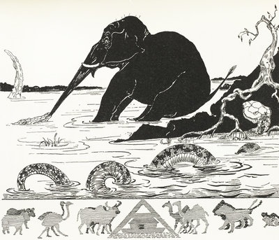 The Elephant's Child by Rudyard Kipling - print