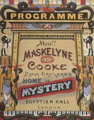 Messrs. Maskelyne and Cooke from England's home of mystery by Anonymous - print
