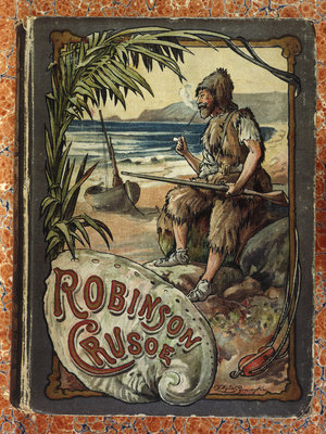 Robinson Crusoe by J. Ayton Symington - print