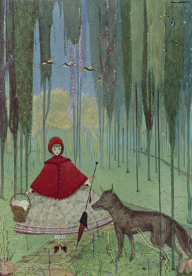 Little Red Riding Hood by Harry Clarke - print