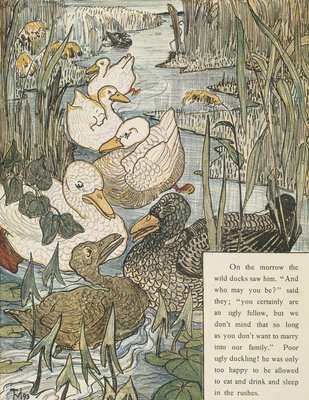 The Ugly Duckling by T. van Hoytema - print