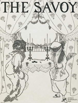The Savoy by Aubrey Beardsley - print