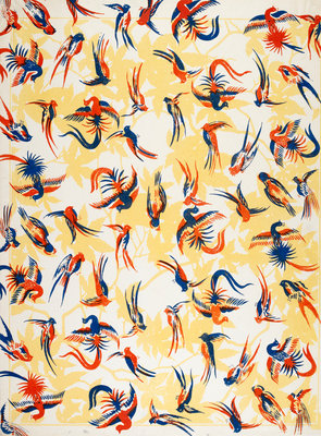 Parrot pattern print by Anonymous - print
