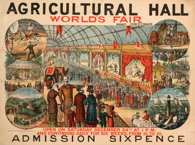 World's Fair, Royal Agricultural Hall by Anonymous - print