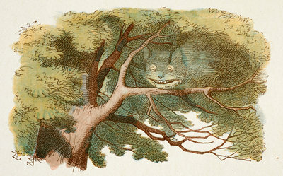 Cheshire Cat by Sir John Tenniel - print