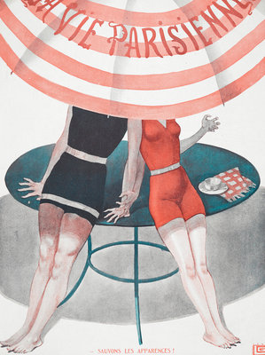 La Vie Parisienne by Anonymous - print