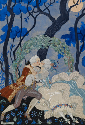 The look of love by George Barbier - print