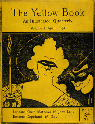The Yellow Book cover by Aubrey Beardsley - print