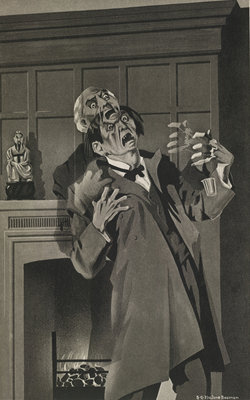 The Strange Case of Dr. Jekyll and Mr. Hyde by S G. Hulme Beaman - print