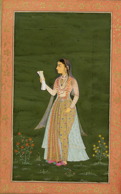 Princess Jahanara by Lalchand - print