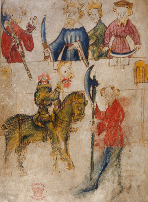 Gawain and the Green Knight by Anonymous - print