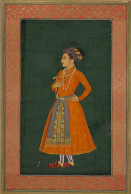 Portrait of Prince Dara Shikoh by Murar - print