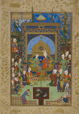 Khamsa of Nizami by Anonymous - print