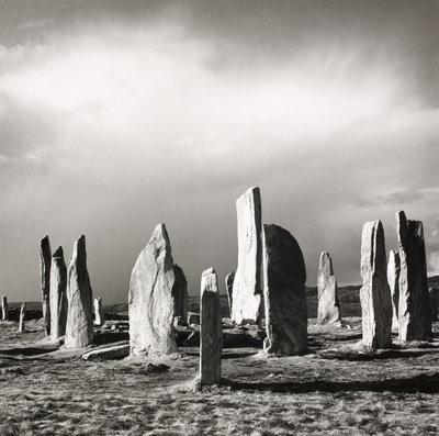 Callanish after hailstorm by Fay Godwin - print