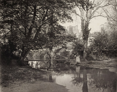 Kenilworth Castle, c. 1863 by Francis Bedford - print