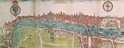 Panorama of London by William Smith - print