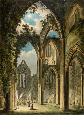 Tintern Abbey by Anonymous - print