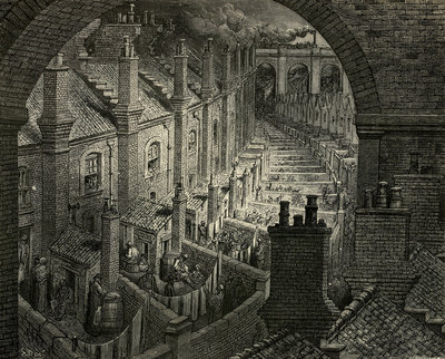 London: A Pilgrimage by Gustave Dore - print