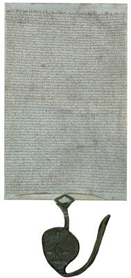 Magna Carta (1225) by Anonymous - print