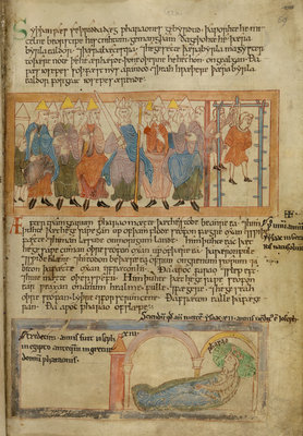 Anglo-Saxon justice in the Old English Hexateuch by Anonymous - print