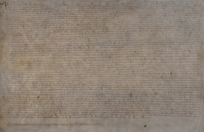 Magna Carta (1215) by Anonymous - print