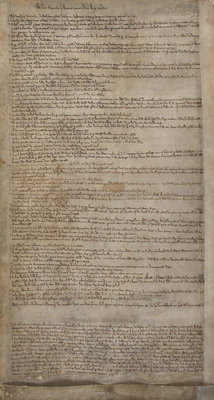 Articles of the Barons by Anonymous - print
