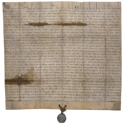 The papal bull annulling Magna Carta by Anonymous - print