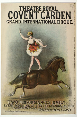 Grand International Cirque at the Theatre Royal by Anonymous - print