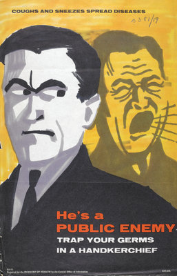 He's a Public Enemy by Ministry of Information - print