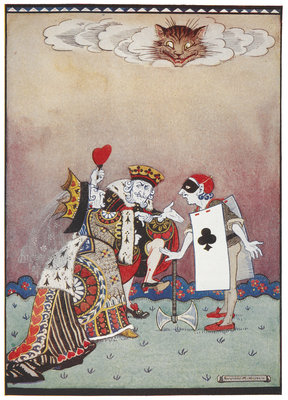 The Queen of Hearts by Gwynedd M Hudson - print
