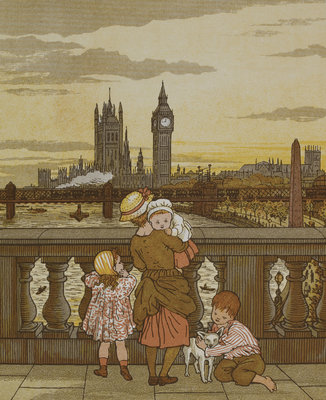 London Town by Thomas Crane - print