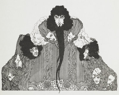 Bluebeard by Harry Clarke - print