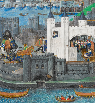 Charles of Orléans in the Tower of London by Anonymous - print