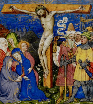 The Crucifixion by Anonymous - print