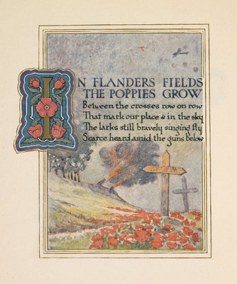 In Flanders fields by Ernest Clegg - print