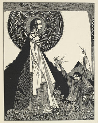 Ligeia by Harry Clarke - print